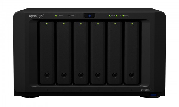 Synology DS1621xs+(16G) Synology RAM 6-Bay 60TB Bundle mit 6x 10TB IronWolf ST10000VN0008