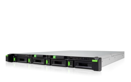 Qsan XCubeNAS XN5004R 4-Bay 4TB Bundle mit 2x 2TB IronWolf ST2000VN004