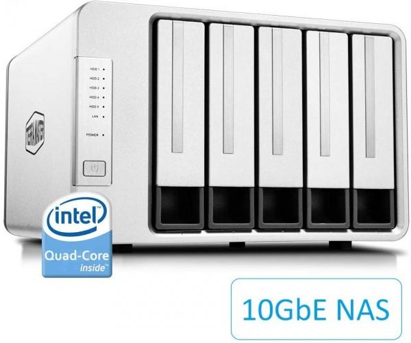 TerraMaster F5-422 5-Bay 15TB Bundle mit 5x 3TB DT01ACA300