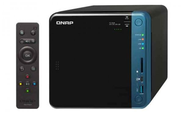 Qnap TS-453B-16G 4-Bay 10TB Bundle mit 1x 10TB IronWolf Pro ST10000NE0004