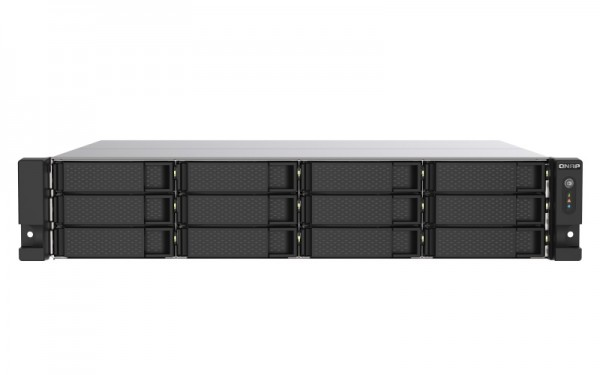 QNAP TS-1253DU-RP-4G 12-Bay 60TB Bundle mit 6x 10TB IronWolf Pro ST10000NE0008
