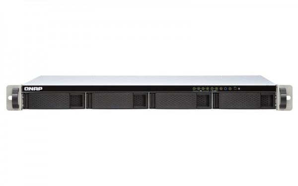 QNAP TS-451DeU-8G QNAP RAM 4-Bay 48TB Bundle mit 4x 12TB Red Plus WD120EFBX