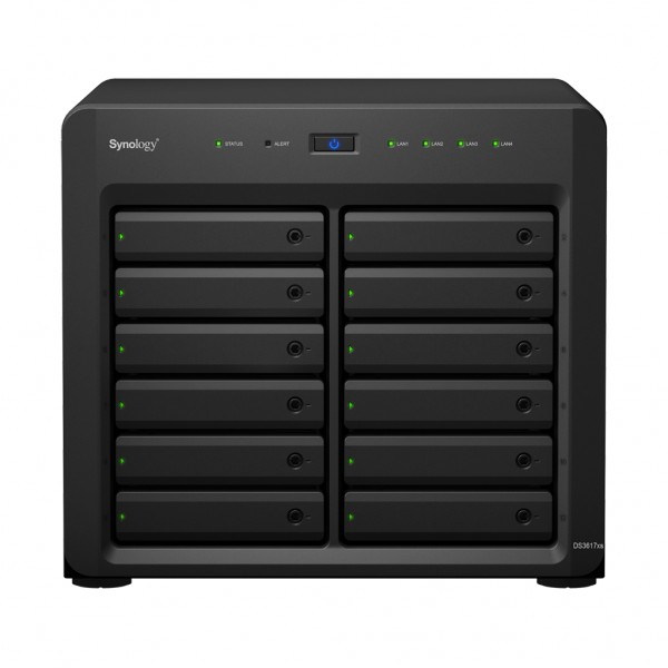Synology DS3617xsII(16G) 12-Bay 48TB Bundle mit 6x 8TB IronWolf ST8000VN0004