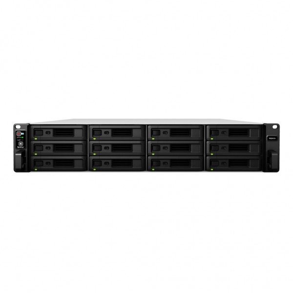 Synology RS2418RP+ 12-Bay 120TB Bundle mit 12x 10TB IronWolf ST10000VN0008