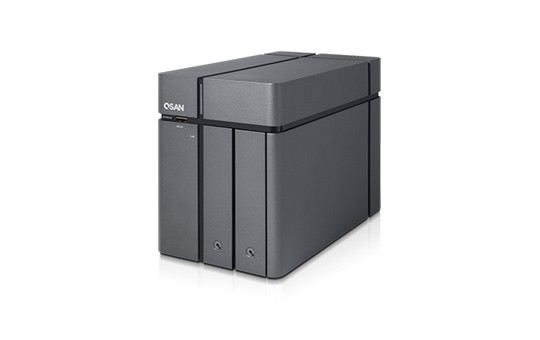 Qsan XCubeNAS XN3002T 2-Bay 4TB Bundle mit 1x 4TB Red WD40EFAX