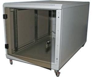 """Triton Untertisch 19"""" Standschrank, 12HE/600x1000 mm, Glast"""