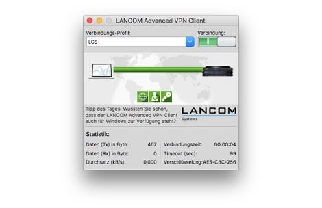 LANCOM Upgrade Advanced VPN Client (MAC, Bulk 10)