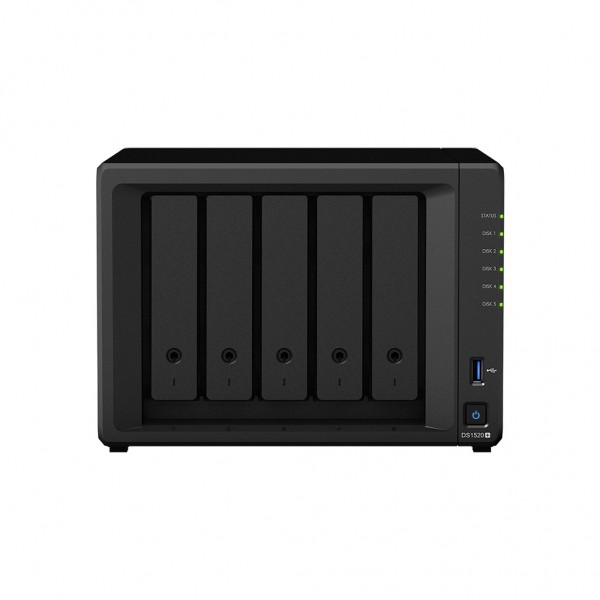 Synology DS1520+ 5-Bay 20TB Bundle mit 5x 4TB IronWolf Pro ST4000NE001
