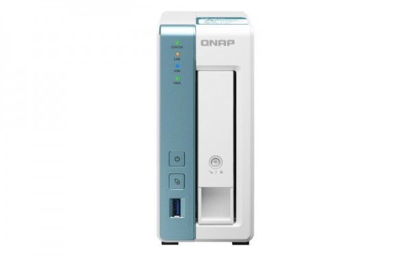 QNAP TS-131K 1-Bay 6TB Bundle mit 1x 6TB IronWolf ST6000VN001