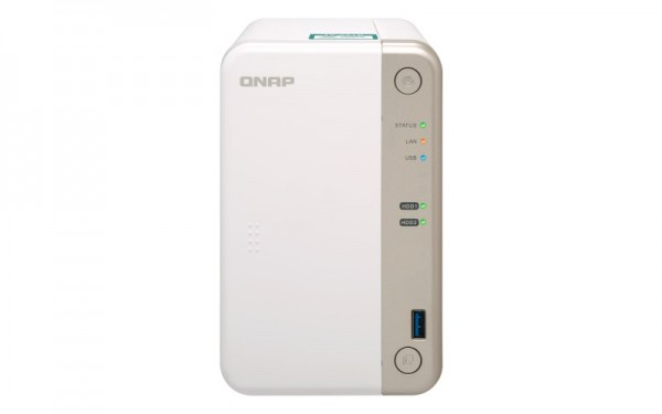 Qnap TS-251B-4G 2-Bay 16TB Bundle mit 2x 8TB HDs