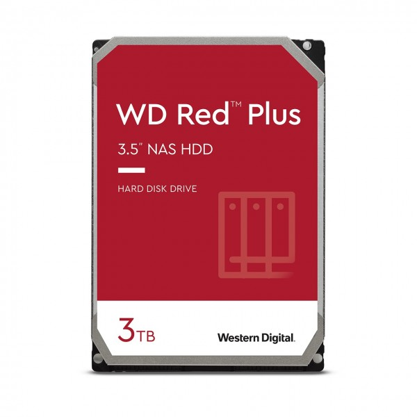 3000GB WD Red Plus, SATA 6Gb/s (WD30EFZX)