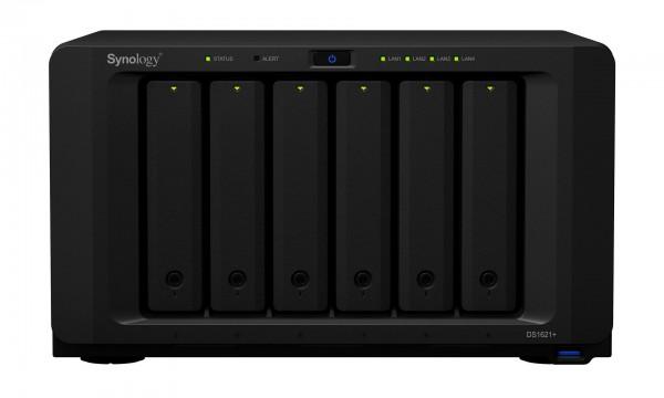 Synology DS1621+ 6-Bay 40TB Bundle mit 4x 10TB Gold WD102KRYZ