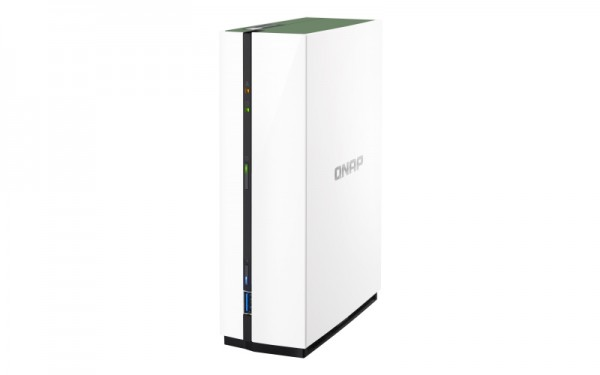 Qnap TS-128A 1-Bay 10TB Bundle mit 1x 10TB IronWolf Pro ST10000NE0004