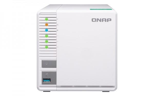 Qnap TS-328 3-Bay 24TB Bundle mit 3x 8TB Red WD80EFZX