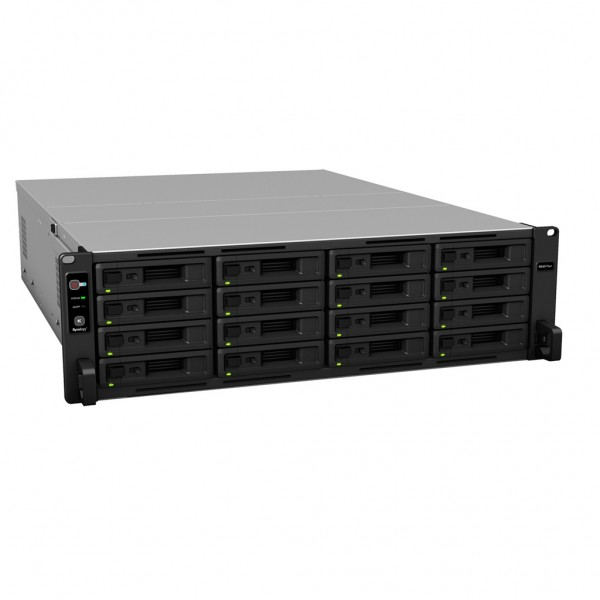 Synology RS4017xs+ 16-Bay 64TB Bundle mit 8x 8TB Red Pro WD8003FFBX
