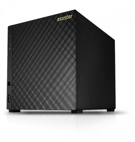 Asustor AS3204T v2 4-Bay 24TB Bundle mit 3x 8TB Gold WD8004FRYZ