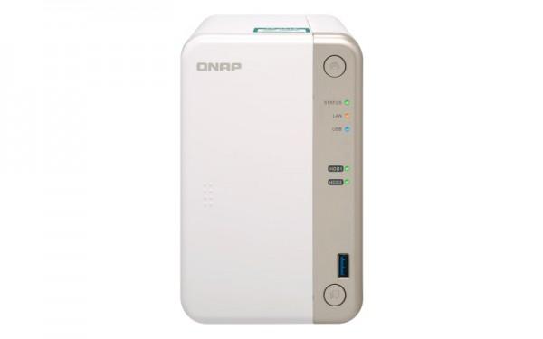 Qnap TS-251B-4G 2-Bay 3TB Bundle mit 1x 3TB HDs