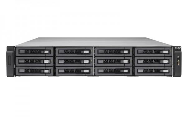 Qnap TES-1885U-D1531-128GR 18-Bay 120TB Bundle mit 12x 10TB IronWolf ST10000VN0004
