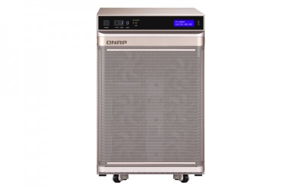 QNAP TS-2888X-W2145-256G 28-Bay 64TB Bundle mit 8x 8TB Gold WD8004FRYZ