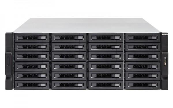 Qnap TS-2477XU-RP-2600-8G 24-Bay 72TB Bundle mit 12x 6TB Red Pro WD6003FFBX