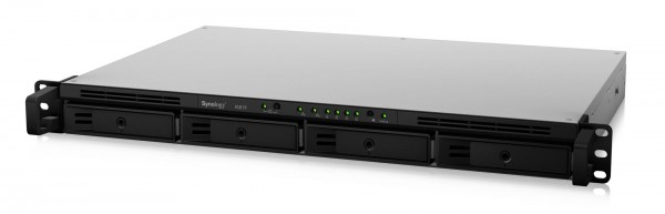Synology RS819 4-Bay 20TB Bundle mit 2x 10TB Red Plus WD101EFBX