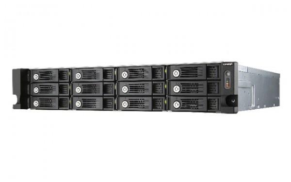 QNAP TS-1253U 2.0GHz QuadCore 4GB Ram 12-Bay Rack NAS Server Bundle mit 6x 6TB HGST HDN726060ALE614