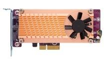 Qnap Erweiterungskarte QM2-2P-344 Dual M.2 22110/2280 PCIe NVMe SSD