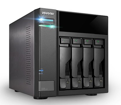 Asustor AS6004U Erweiterungseinheit 4-Bay 16TB Bundle mit 2x 8TB Red Plus WD80EFBX