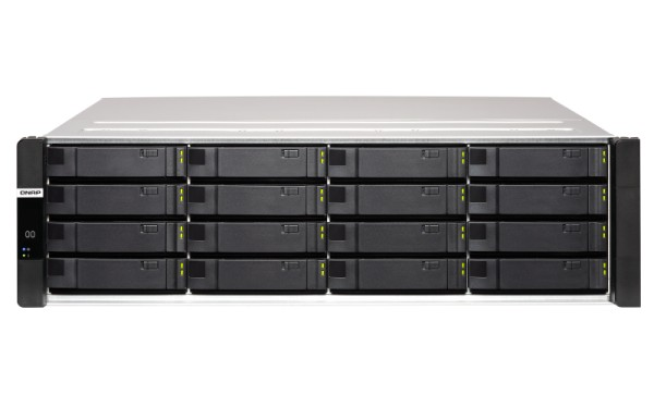 Qnap ES1686dc-2142IT-128G 16-Bay 8TB Bundle mit 8x 1TB Gold WD1005FBYZ
