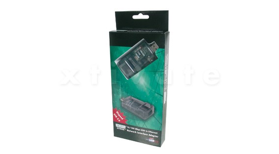 USB 2.0 Netzwerkadapter, 10/100 Mbit
