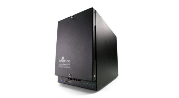 ioSafe NAS 216, 1x Gb LAN, Enterprise HDD, DRS Pro 1 Jahr (216-E12TB1YRPRO-EU)