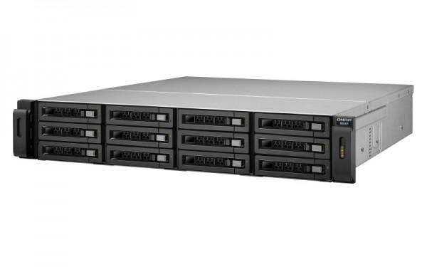 Qnap REXP-1220U-RP 12-Bay 48TB Bundle mit 6x 8TB Red Pro WD8003FFBX