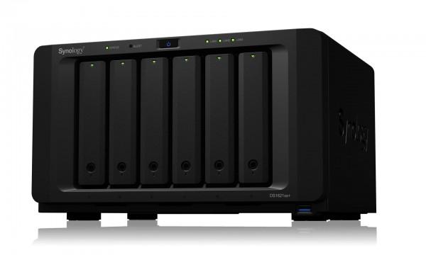 Synology DS1621xs+ 6-Bay 20TB Bundle mit 2x 10TB Red Plus WD101EFBX