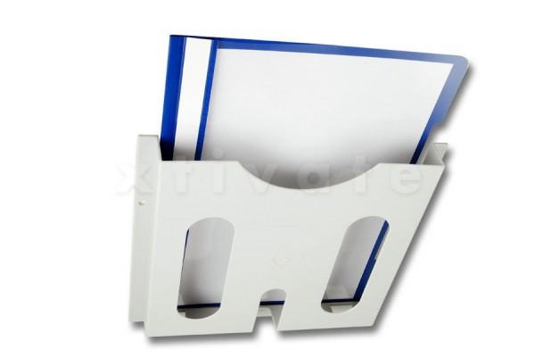 """Schaltplantasche DIN A4 aus Kunststoff, für 19""""-Verteiler"""