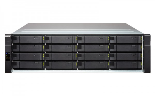 Qnap EJ1600 v2 16-Bay 128TB Bundle mit 16x 8TB Red Pro WD8003FFBX