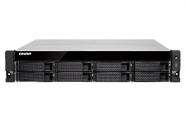 Qnap TS-853BU-4G 8-Bay 56TB Bundle mit 7x 8TB Red WD80EFAX