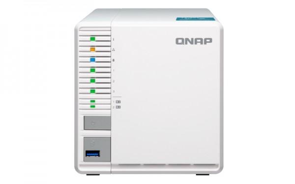 Qnap TS-351-2G 3-Bay 8TB Bundle mit 2x 4TB Red WD40EFAX