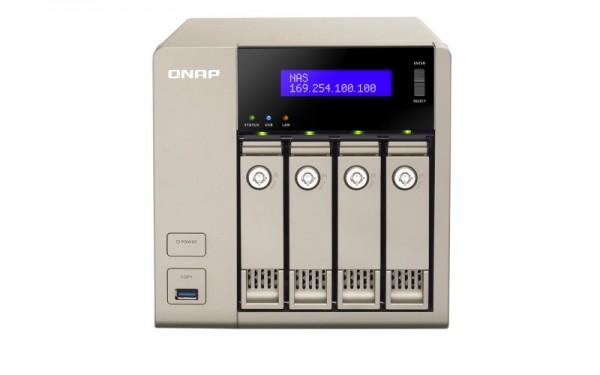 Qnap TVS-463-8G 4-Bay 8TB Bundle mit 4x 2TB Red WD20EFRX