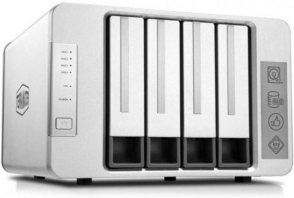 TerraMaster F4-210 4-Bay 8TB Bundle mit 2x 4TB IronWolf Pro ST4000NE001
