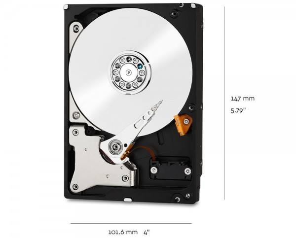 10000GB WD Red, SATA 6Gb/s (WD101EFAX)