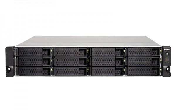 Qnap TS-1253BU-8G 12-Bay 12TB Bundle mit 6x 2TB IronWolf Pro ST2000NE0025
