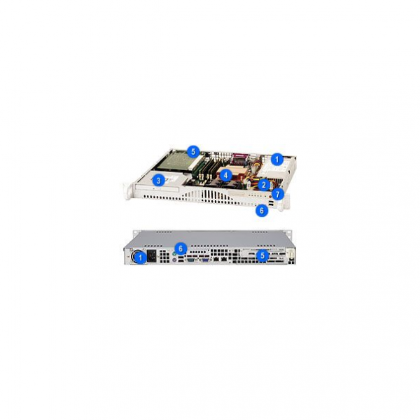 Supermicro SuperChassis 512-260B