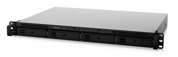 Synology RS819 4-Bay 4TB Bundle mit 2x 2TB Red WD20EFAX