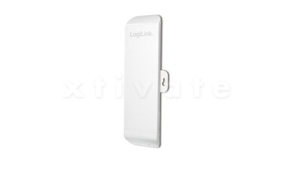 LogiLink WL0129 WLAN 802.11b/g/n Outdoor Access Point, 150MBits, 1T1R, Power