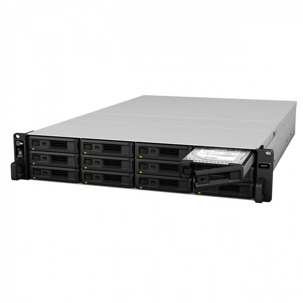 Synology RX1217RP 12-Bay 96TB Bundle mit 12x 8TB IronWolf ST8000VN0004