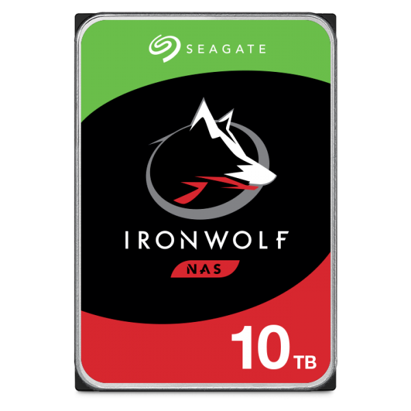 10000GB Seagate IronWolf NAS HDD, SATA 6Gb/s (ST10000VN0008)