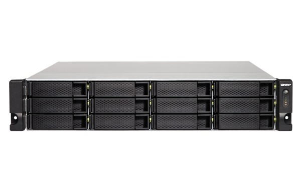 Qnap TS-1263XU-RP-4G 12-Bay 120TB Bundle mit 12x 10TB IronWolf ST10000VN0008