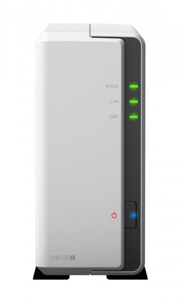 Synology DS120j 1-Bay 3TB Bundle mit 1x 3TB IronWolf ST3000VN007