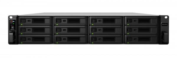 Synology RS3621RPxs 12-Bay 60TB Bundle mit 6x 10TB Red Pro WD102KFBX