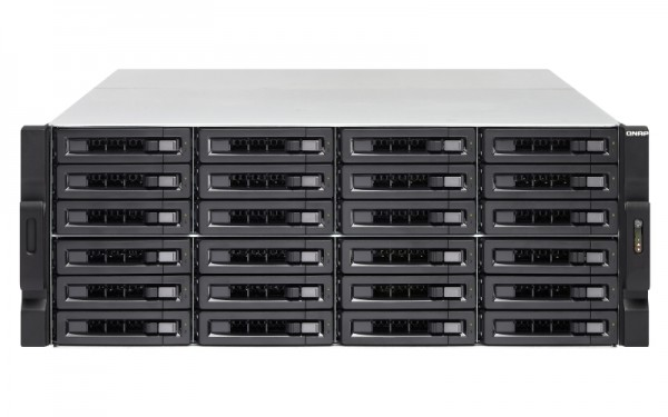 Qnap TS-2483XU-RP-E2136-16G 24-Bay 144TB Bundle mit 12x 12TB IronWolf Pro ST12000NE0008